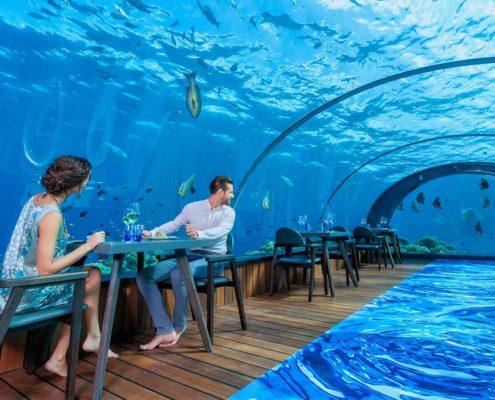 5.8 Undersea Restaurant Hurawalhi Maldives