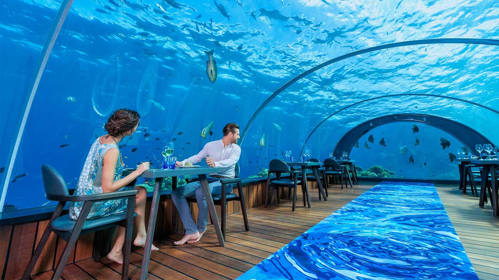 Neue Kulinarische Gen 252 Sse Im 5 8 Unterwasserrestaurant Im