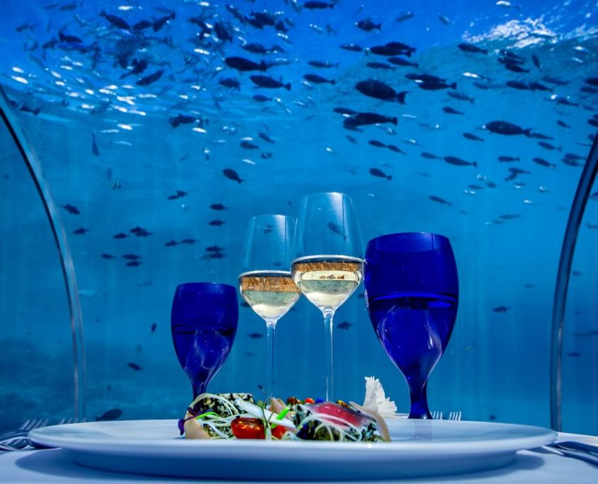 Hurawalhi Maldives 5.8 Undersea Restaurant