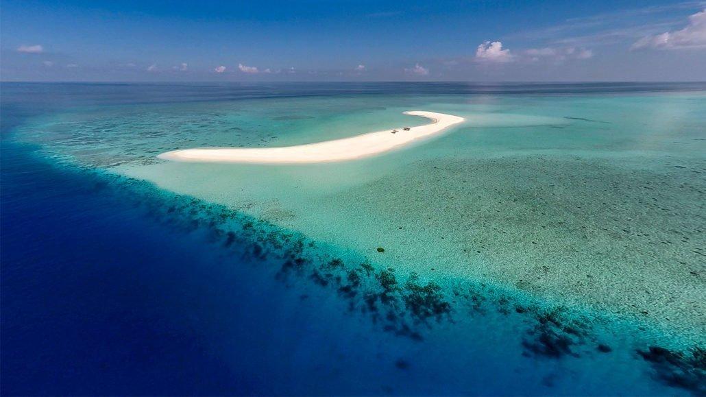 Остров Хуравали на Мальдивах