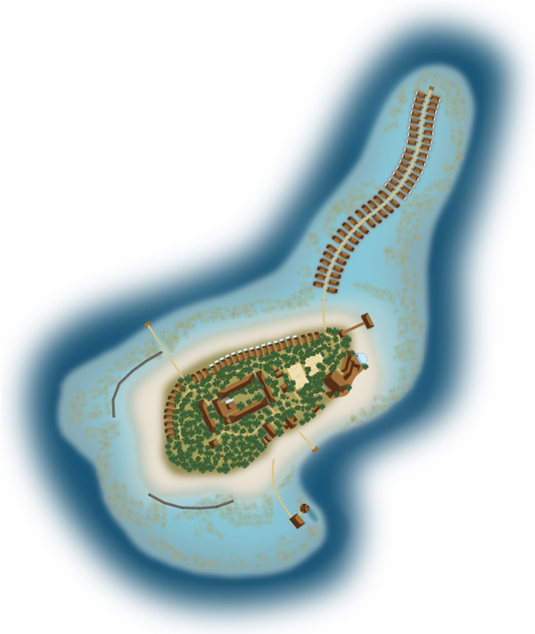 Hurawalhi Maldives resort map