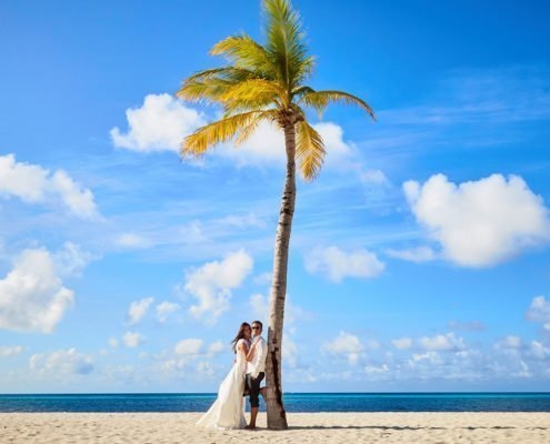 Hurawalhi PIX Maldives Romance Palm Tree