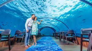 5.8 Undersea Restaurant Hurawalhi Maldives