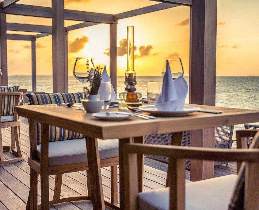 Hurawalhi Maldives restaurant