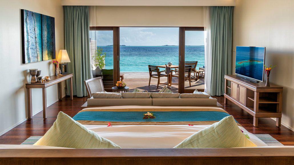 Ocean Pool Villa Hurawalhi Maldives Resort Villas Maldives