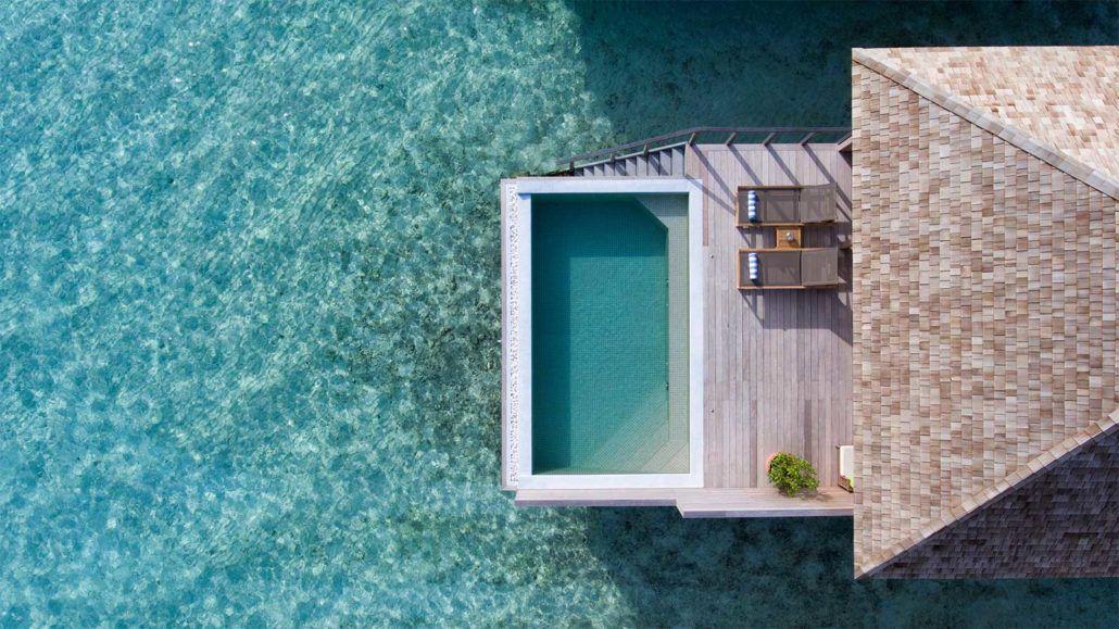 Остров Хуравали, вилы на воде