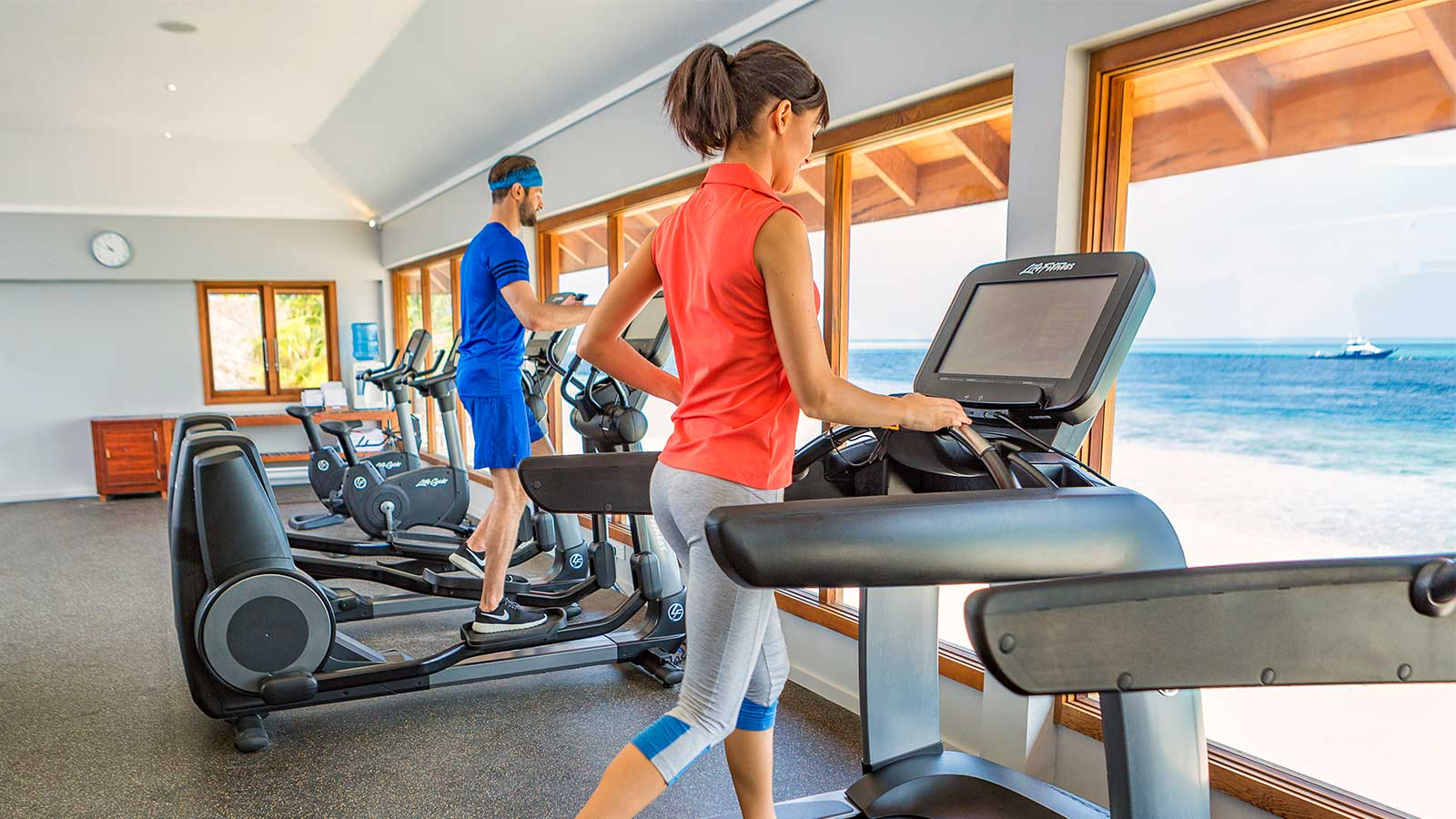 Hurawalhi Maldives fitness