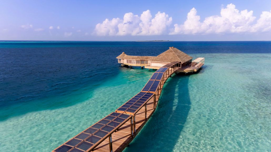 Мальдивы, спа салон острова Хуравали