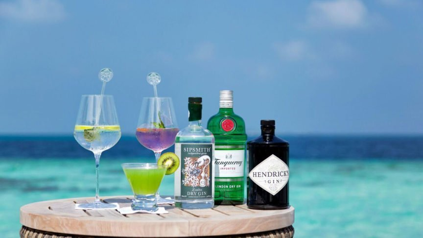 Hurawalhi Maldives Gin Promotion