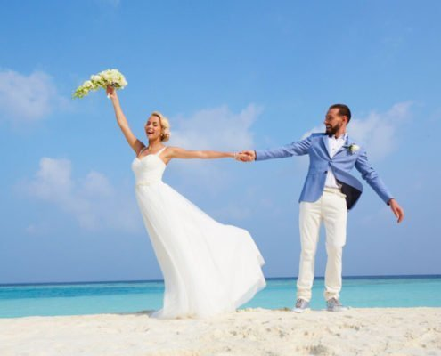 Hurawalhi Malediven Hochzeitszeremonie