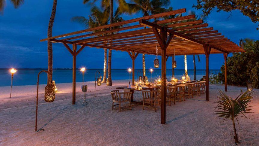 Chef's Table at Hurawalhi Maldives