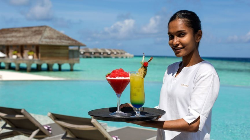 Cocktails Hurawalhi Maldives