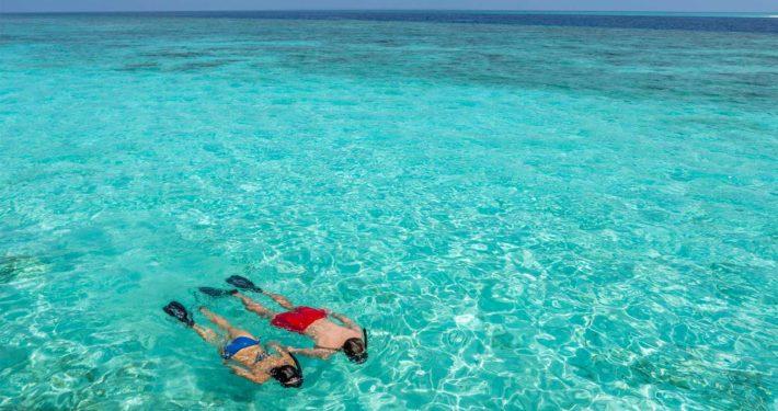 Snorkel Hurawalhi Maldives