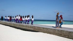 Nature Club visit Hurawalhi Maldives