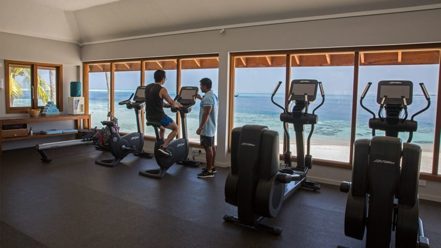 Hurawali Maldives Gym Naveen