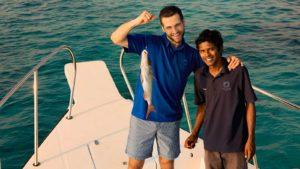 Fishing Hurawalhi Maldives