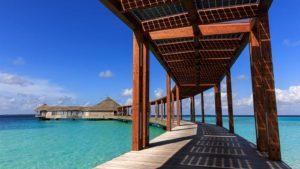 Solar panels Hurawalhi Maldives