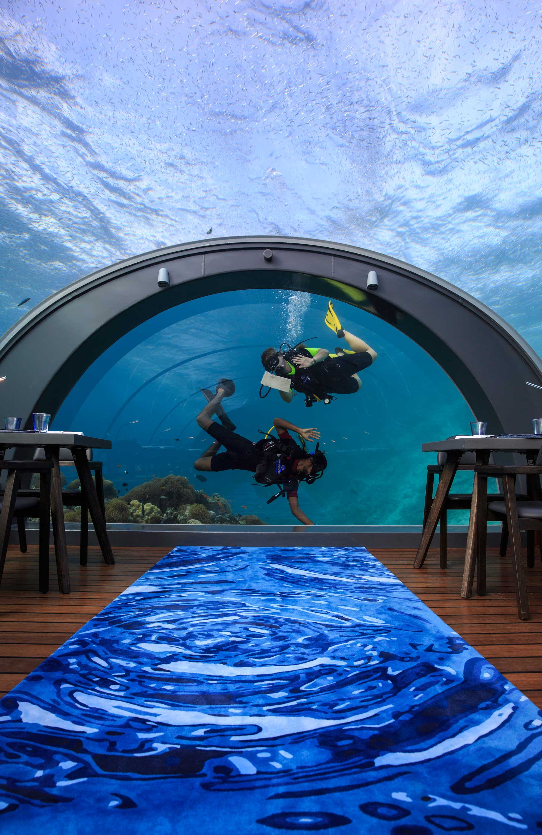 The World's Most Enviable Job – 5.8 Undersea Restaurant at ...