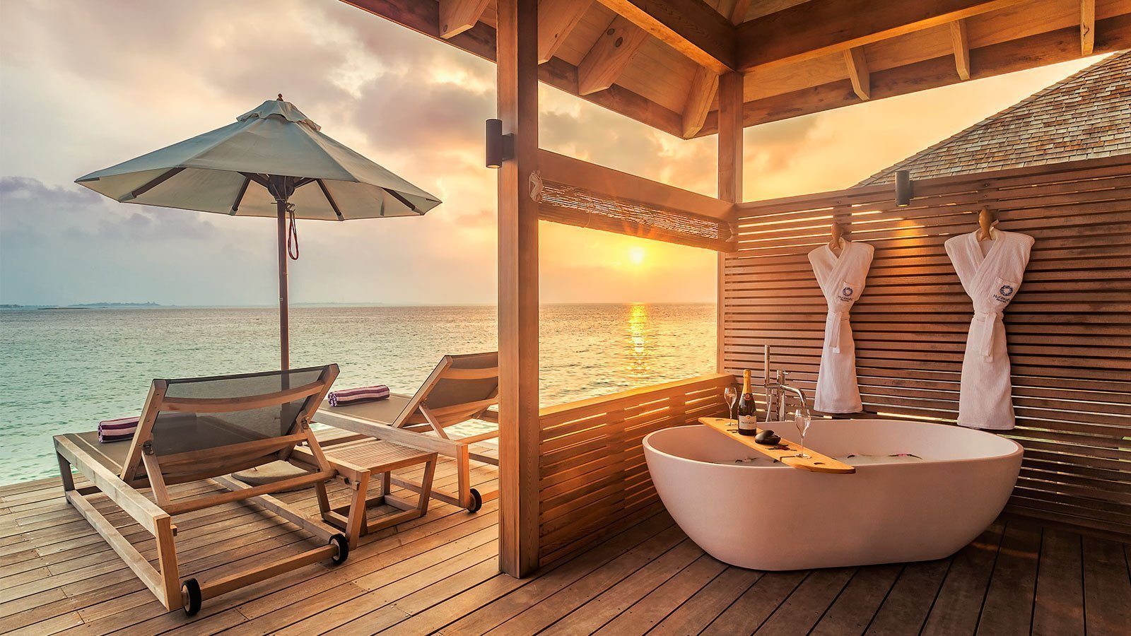 Romantic Ocean Villa Hurawalhi Maldives