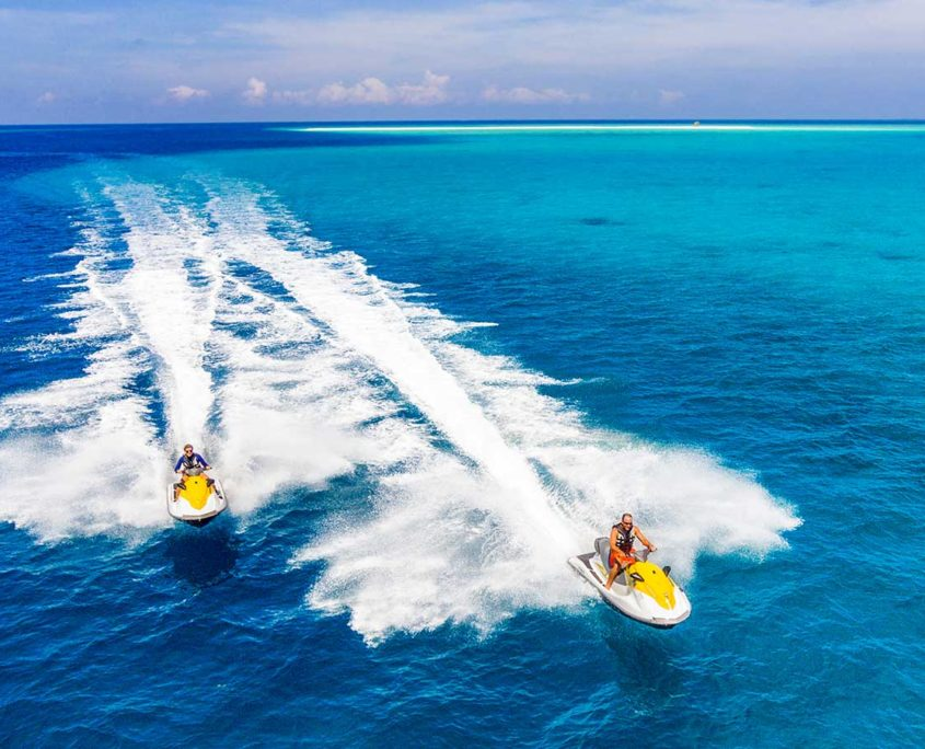 Jet Ski Watersports Hurawalhi Maldives
