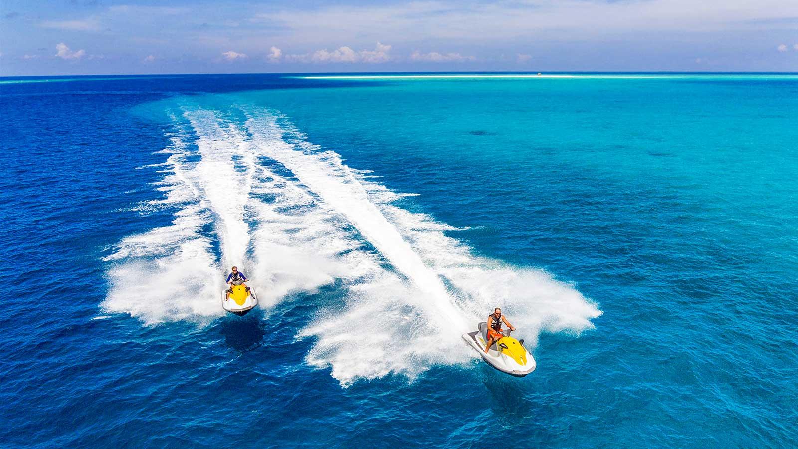 Jet Ski Watersports Hurawalhi Maldives