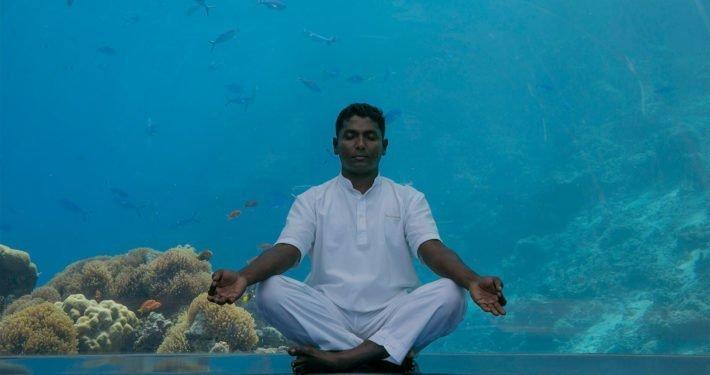 Meditation at Hurawalhi Maldives