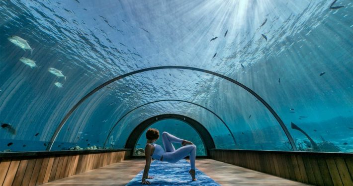Yoga at Hurawalhi Maldives