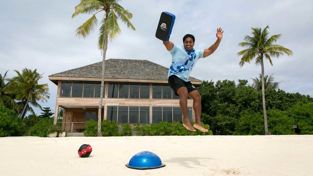 Naveen Personal Trainer Fitness Gym Hurawalhi Maldives