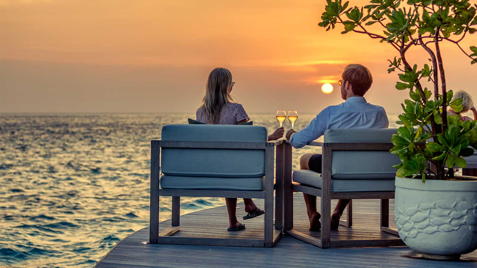 Champagne Pavilion Hurawalhi Maldives