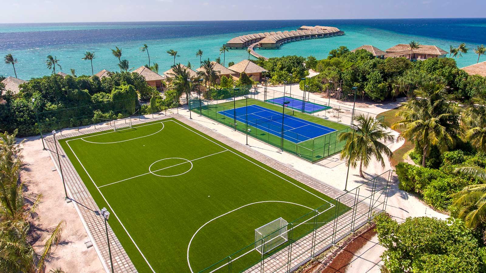 Tennis Hurawalhi Maldives